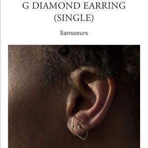 Catbird G Single Earring
